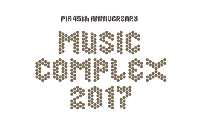 PIA 45th Anniversary MUSIC COMPLEX 2017のロゴ