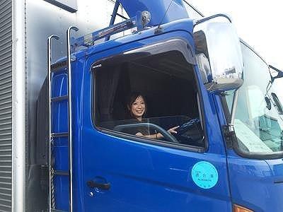 女性ドライバーも活躍中。