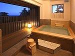 全室露天風呂付きの旅館です!