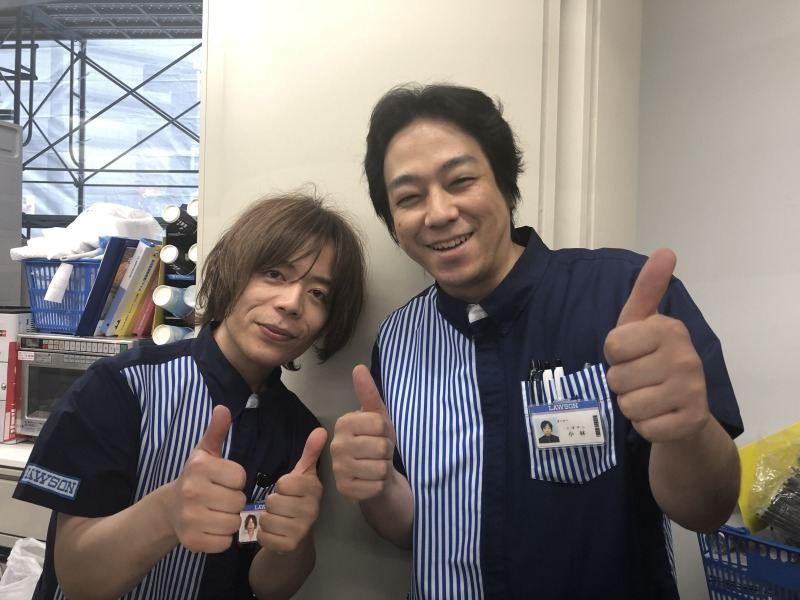 優しい店長(左)&オーナー(右)