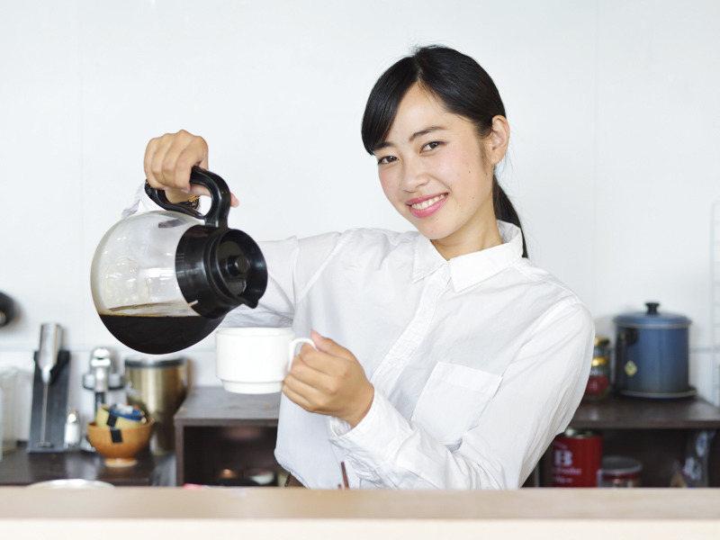 豆を厳選したオリジナルコーヒー