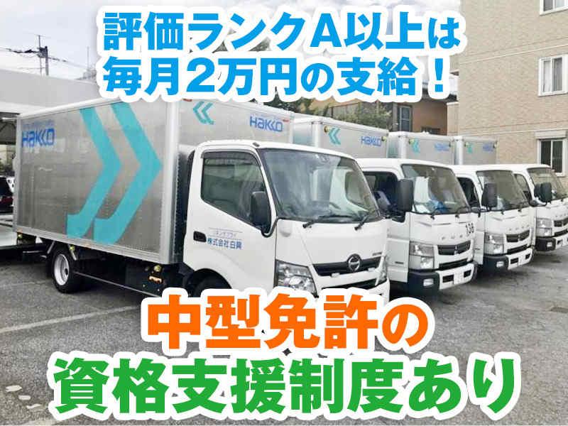 評価ランクA以上は<BR>毎月2万円の支給!