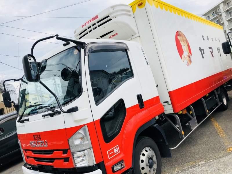 このトラックに乗って仕事してみませんか?