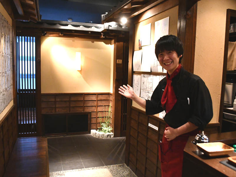 町屋風の全室完全個室の焼肉店☆