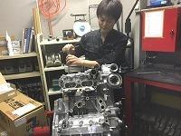 エンジンも触ります!