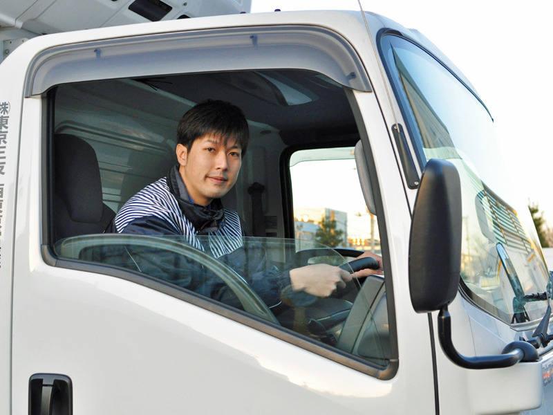 家族がいる男性ドライバーがたくさん在籍中