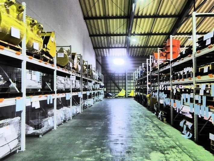 倉庫はこんなイメージです。
