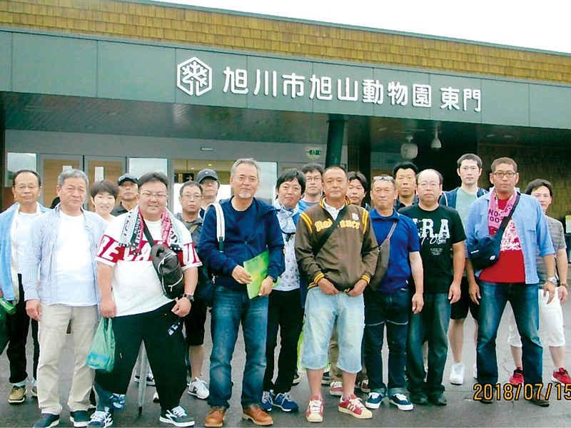 毎年社員旅行あり! 北海道旅行♪